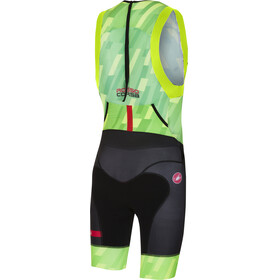 Castelli Free ITU Tri Suit Men pro green/black